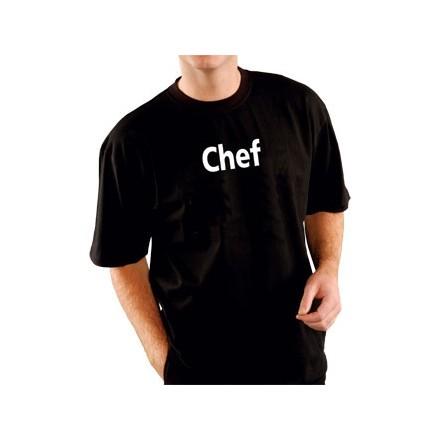 """Kitchen Chef Team T-Shirt Black Size XL fit 48""""-50"""""""